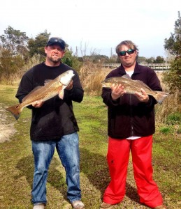 Captain Robert Hall and Jon Morton your winner of the Riley Rods Redfish Shootout Series Beaufort event. — with Jonathan Morton and Robert Hall in Beaufort, NC.